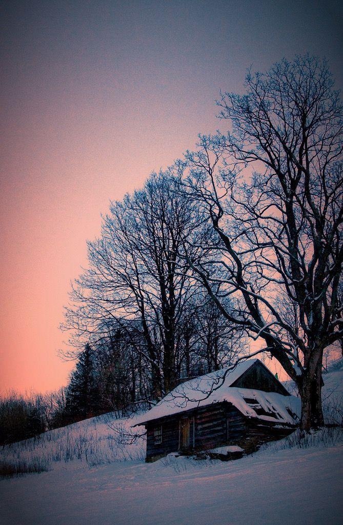 Winter sunrise (Poland) by Grzegorz Grzesiak