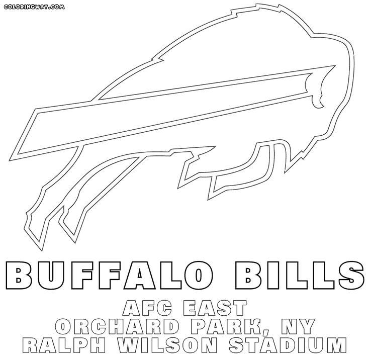 #bills #buffalo #coloring #logo #pages #2020 | Bills logo ...