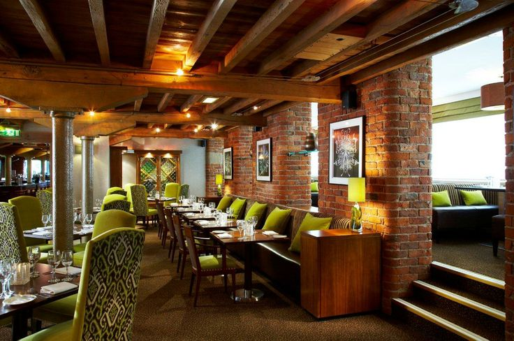 The V&A Restaurant & Bar - a comfortable place to relax with some great food & drink in #Manchester. Many tables have river views.
