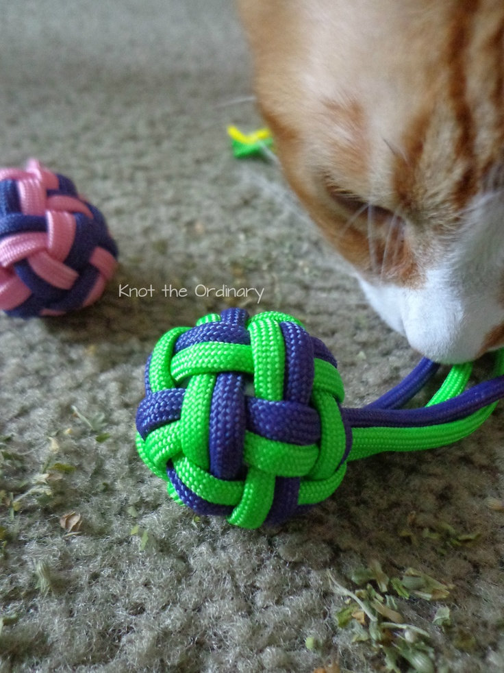 Paracord Knots Projects Cat Toy