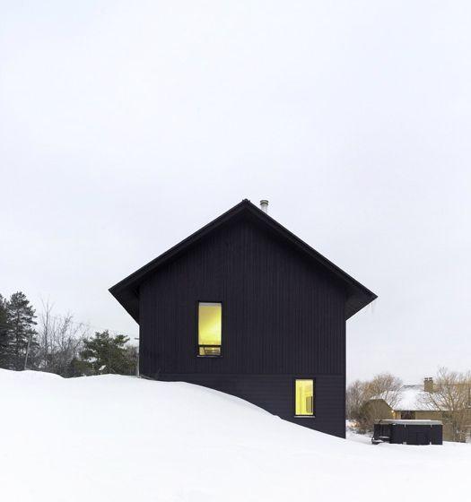Contemporary Chalet House Plans – Canadian Winter Wonderland   Modern House Designs