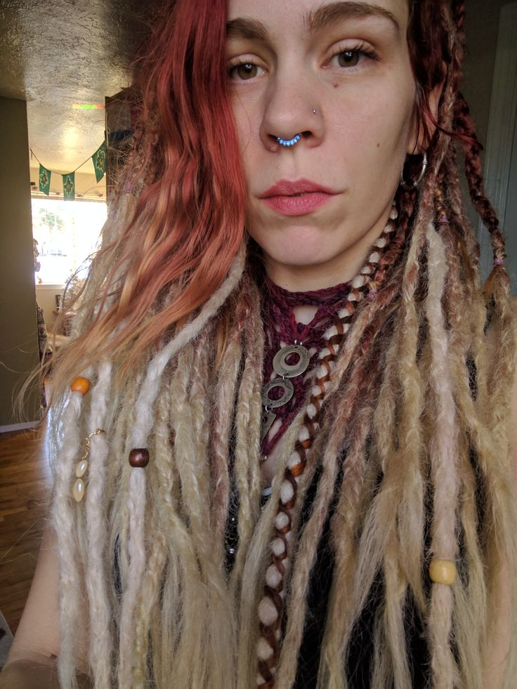 184 best custom knotty dreadlock extensions by iconic locks images red to blonde ombre dreadlocks httpsetsylisting pmusecretfo Images