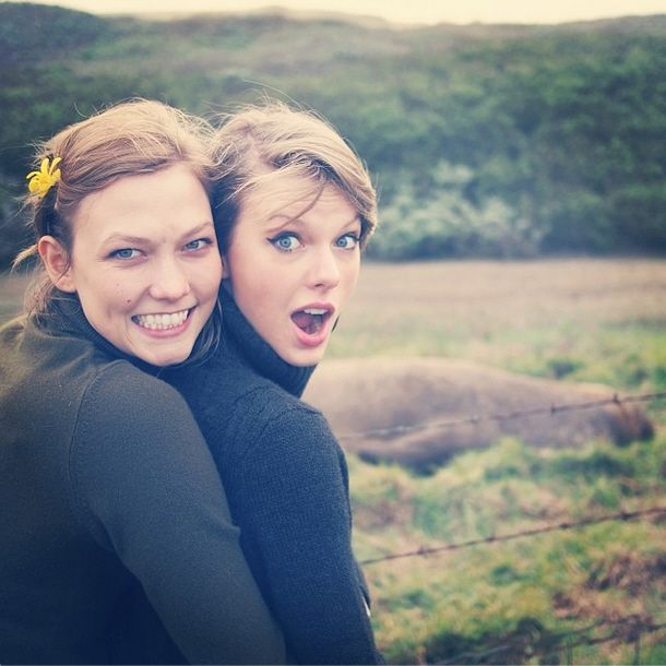 Taylor Swift & Karlie Kloss went on a girls-only road trip to Big Sur
