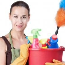 Domestic CEO gives 12 spring cleaning tips for the home.  SPRING CLEANING BEFORE GROUND HOGS DAY :D!!!!!