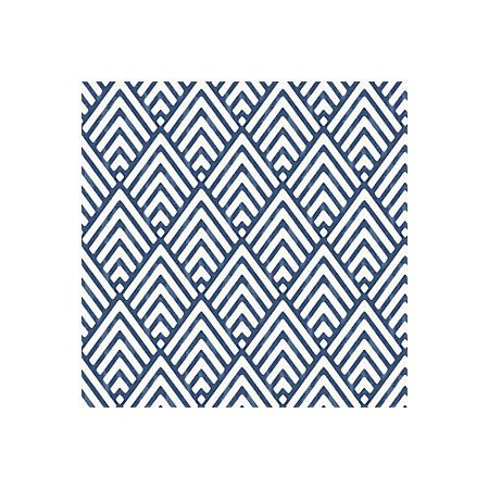 View Hadley Blue Geometric Mica Wallpaper details