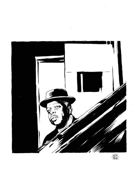 Stampa Artistica Count Basie Portrait di StrangeFruitsPrints