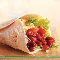 Tortilla's met chilibonen