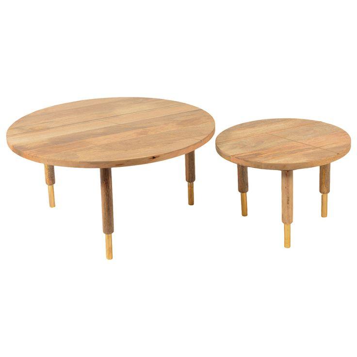Messinki 2 Piece Coffee Table Set