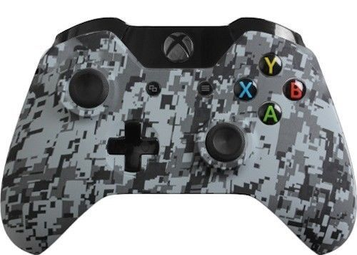 Exhibition Shell Xbox One : Custom xbox one controller with urban camo shell new