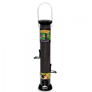 """Onyx Clever Clean 18"""" Nyjer Seed Feeder with Microban Antimicrobial Technology 1"""