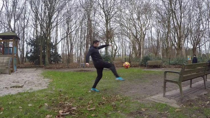 Weak foot training Zaterdag 24.12.2016