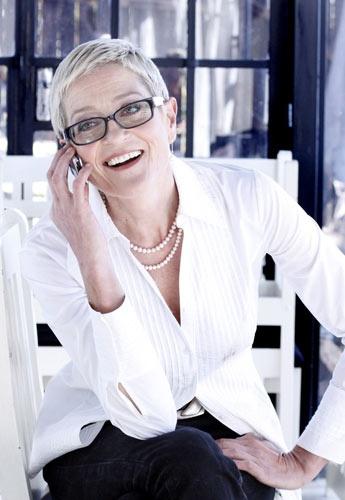Afrikaans cabaret artist and chef Elsabe Zietsman.