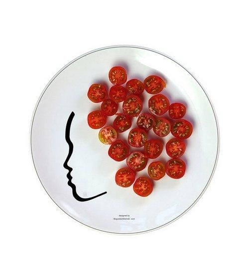 FaceOn with tomatoes | Boguslaw Sliwinski