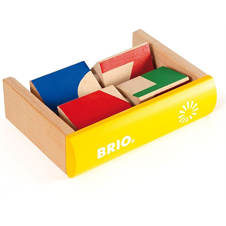BRIO - Toddler Wooden Shape Puzzle