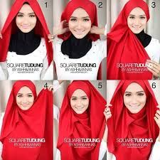 Image result for hijab styles step by step