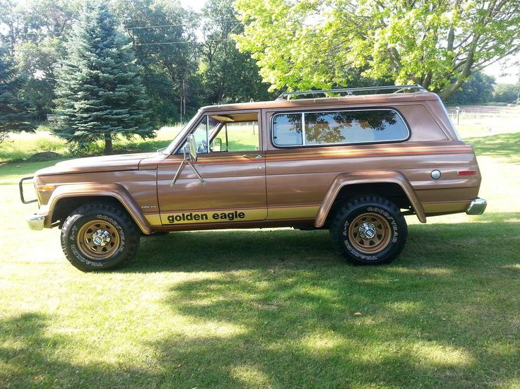 Lifted Jeeps For Sale >> 1979 Jeep Cherokee Golden Eagle with 2,760 original miles. | Jeep Cherokee (SJ) | Jeep Cherokee ...