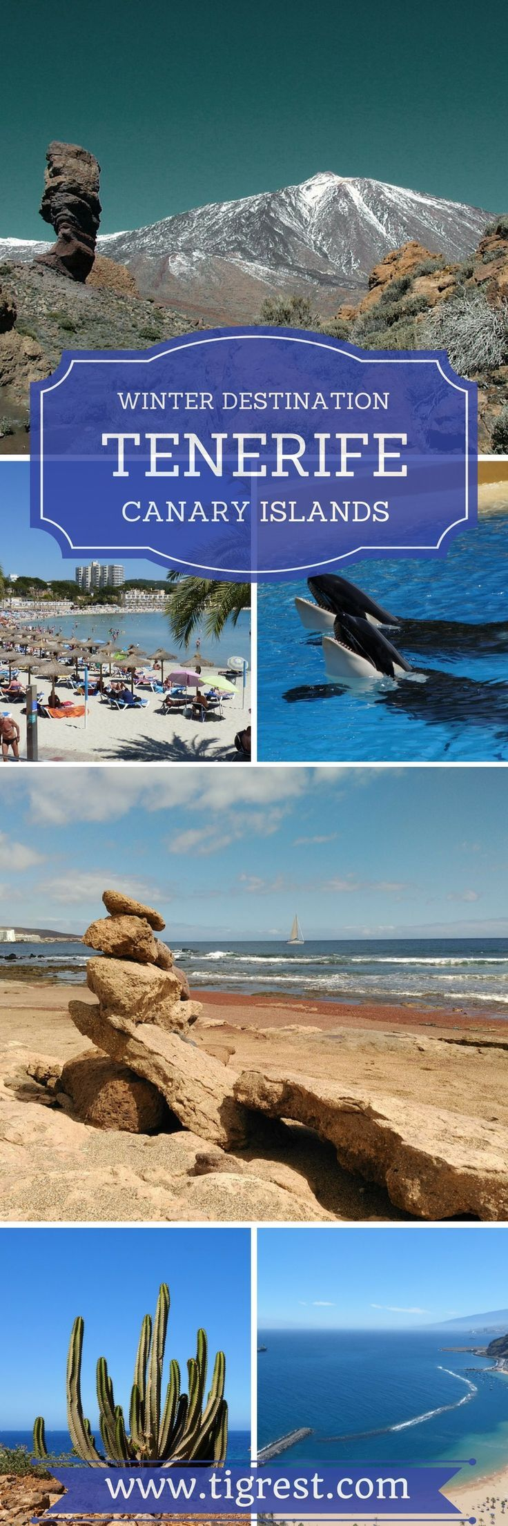Tenerife holidays - best destination with year round sunny weather. It's popular among tourists and has a lot to offer