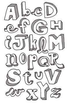 Can't beat hand drawn letters. Google Image Result for