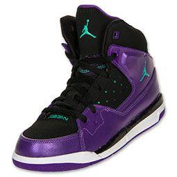Girls\u0027 Preschool Air Jordan Flight SC-1 Basketball Shoes   FinishLine.com  