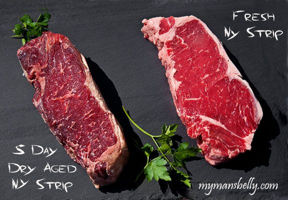 Did You Know You Could Make Dry Aged Steak At Home? Here's How--dry aged beef, dry aged steak, steak recipes