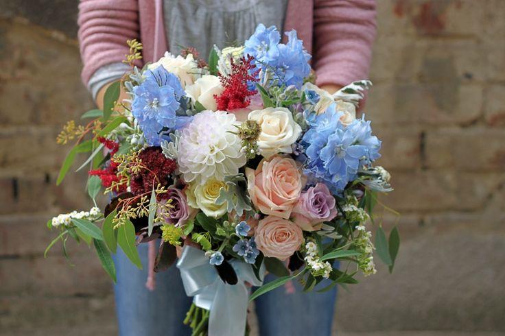 Buchet mireasa colorat, pastelat/ Wedding bouquet wild&beautiful