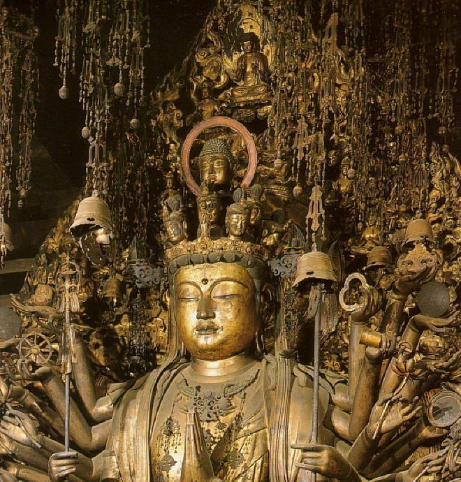 Sanjusangendo Temple Kannon