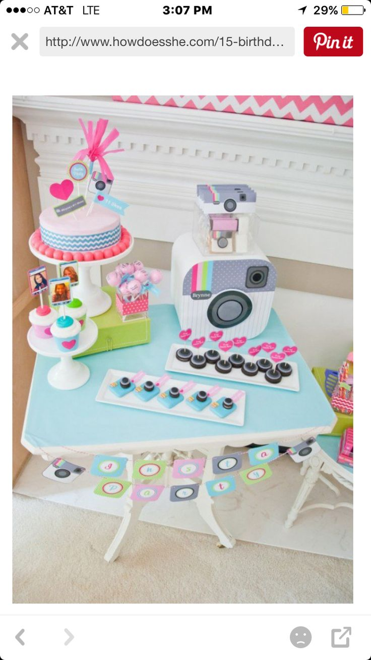 63 Best Teen Girl Birthday Party Ideas Images On Pinterest  Birthday -4315