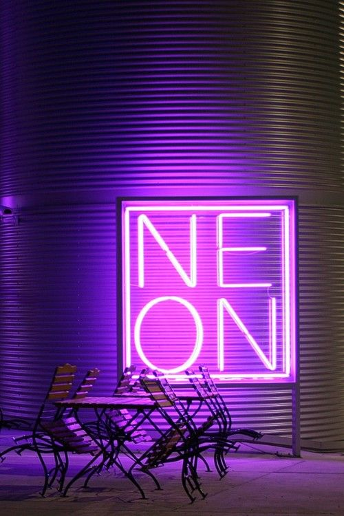 i bet you could get Mark to lend us some cool neon lights for the shoot, and if…