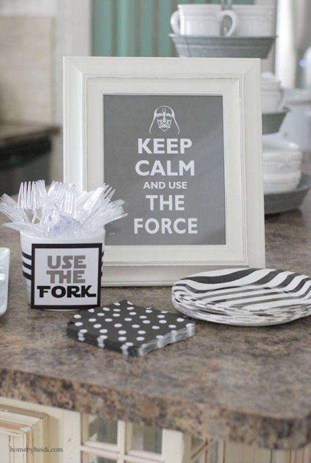 Darth Vader Birthday Party via Kara's Party Ideas | KarasPartyIdeas.com #darthvaderparty (3)