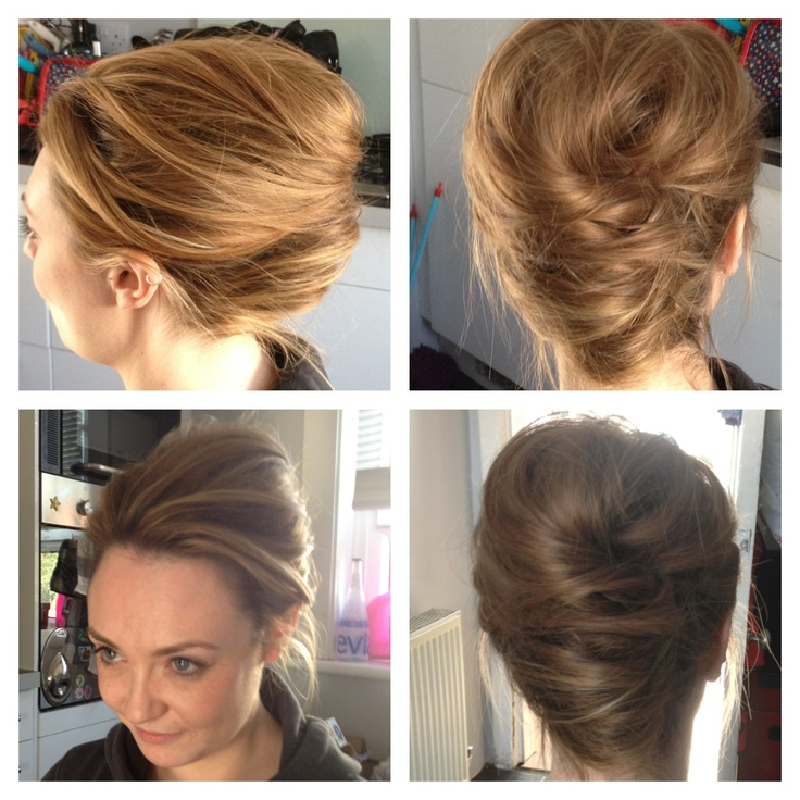 Wedding Hairstyle Roll: 30 Best Images About French Roll Hair On Pinterest