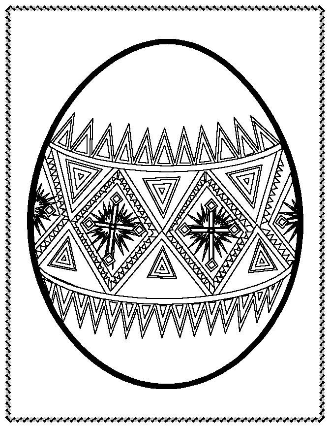 this is from a coloring book would make a good pattern for transfer to basket easter coloring pagesegg