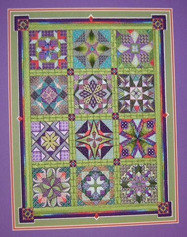 Stars for a New Millenium Robin's colorway - JustEnoughTime: Minieri Design