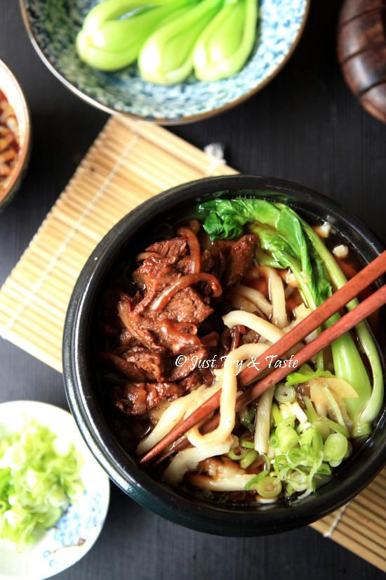 Resep Udon Kuah dengan Daging Sapi