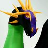 Gemmy 9-ft Animatronic Internal Light Dragon Halloween Inflatable