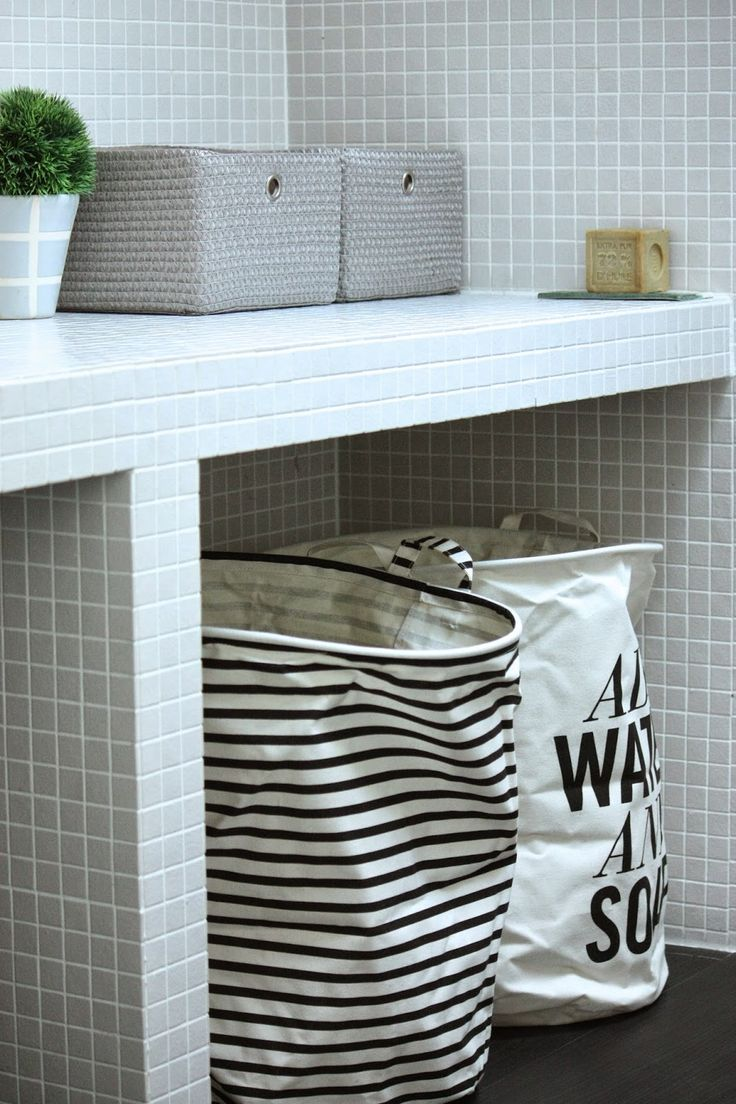 les 25 meilleures id es de la cat gorie organisation de panier de linge sur pinterest. Black Bedroom Furniture Sets. Home Design Ideas