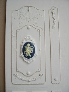 how to: miniature decorative wall panels