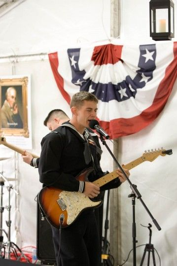 The Pacific Fleet Band traveled all the way from Hawaii to join the Embassy's Independence Day celebrations #July4CBR