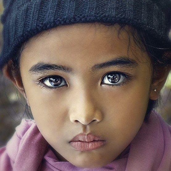 Violet eyes... | All Things Beautiful