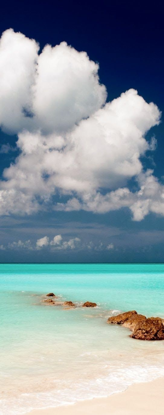 Pelican Beach, Belize share moments #Clouds #Beautiful