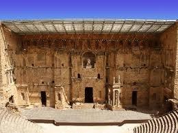 Roman Theater Ruins, Orange, France