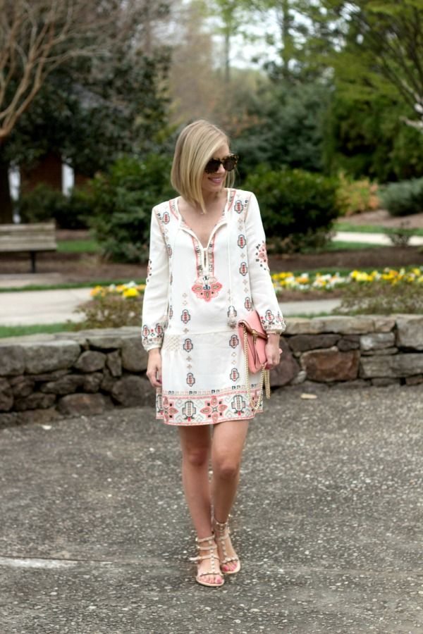 Life with Emily | a life + style blog : Embroidered Dress