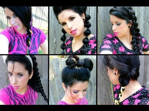 7 Trendy Teen School Hairstyles:Braids, Bubbles & Bows! These hairstyles are amazing!!!(@Breland GlitterForever17)