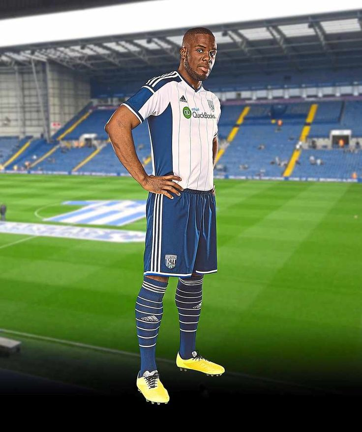 Victor Anichebe modelling the new Albion kit