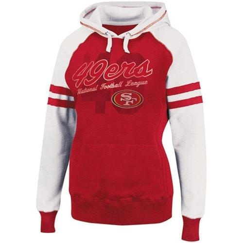 San Francisco 49ers Ladies Huddle II Pullover Hooded Sweatshirt - Scarlet | eBay http://www.ebay.com/itm/San-Francisco-49ers-Ladies-Huddle-II-Pullover-Hooded-Sweatshirt-Scarlet-/230850358630?pt=US_Womens_Sweats_Hoodies=item35bfc0ed66Huddle Ii,  T-Shirt, Pullover Hoodie, Pullover Hoods, Ii Pullover, Hooded Sweatshirts, Lady Sweatshirts, Lady Huddle, Hoods Sweatshirts
