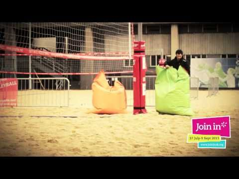Join In 2013 - Crystal Palace Beach Volleyball Club with Jonathan Edwards