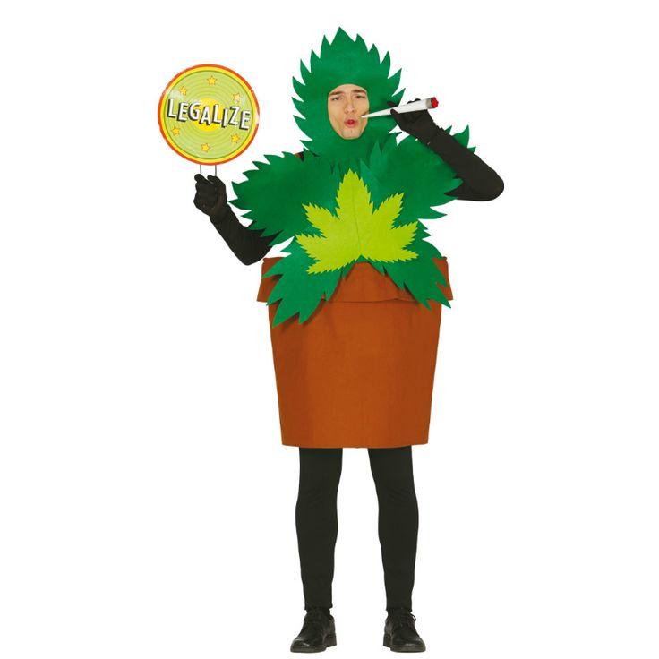 Disfraz de Planta de Marihuana #disfraces #carnaval #novedades2015
