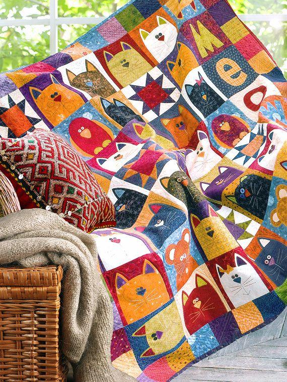 CATNIP - Printed Quilt Pattern                                                                                                                                                                                 More