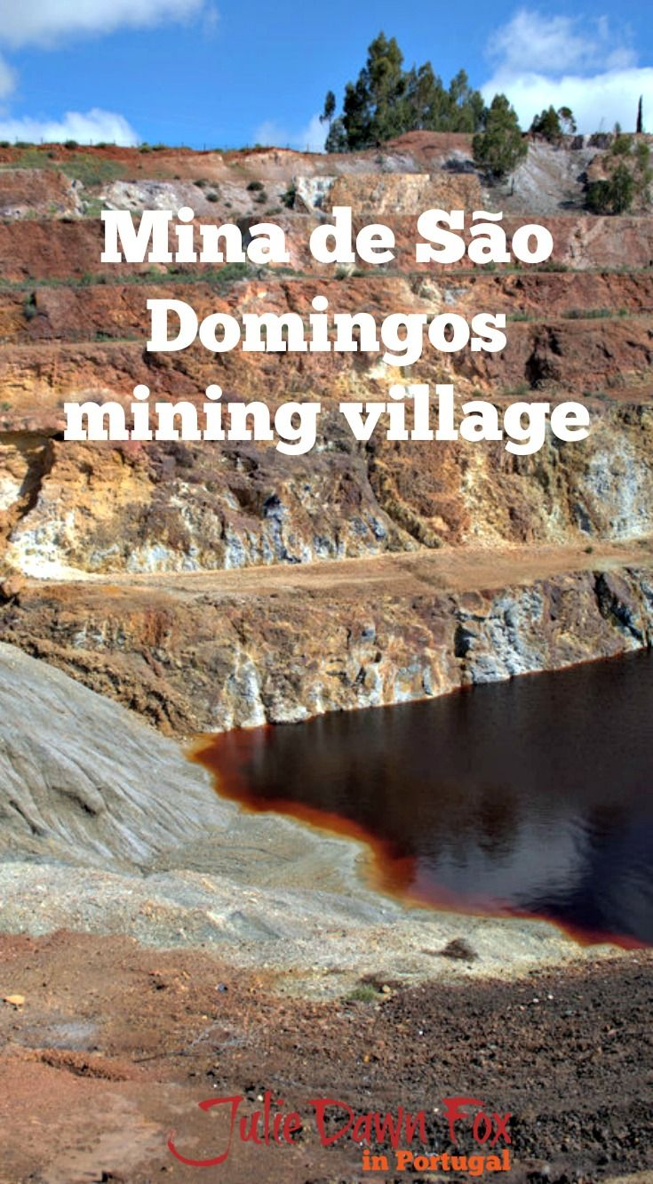 Kaleidoscopic Mina de São Domingos: Colourful Mining History in the Alentejo region of Portugal. As well as an open air museum and a walking/cycle route to explore the former mine installations, there's a miner's cottage museum and a river beach to enjoy. Click to read all about it.