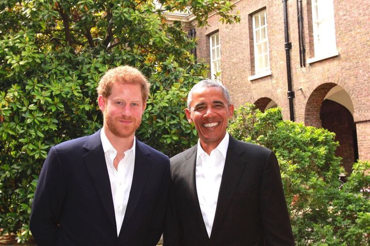 Prince Harry hosted former President Barack Obama at Kensington Palace   27 May 2017