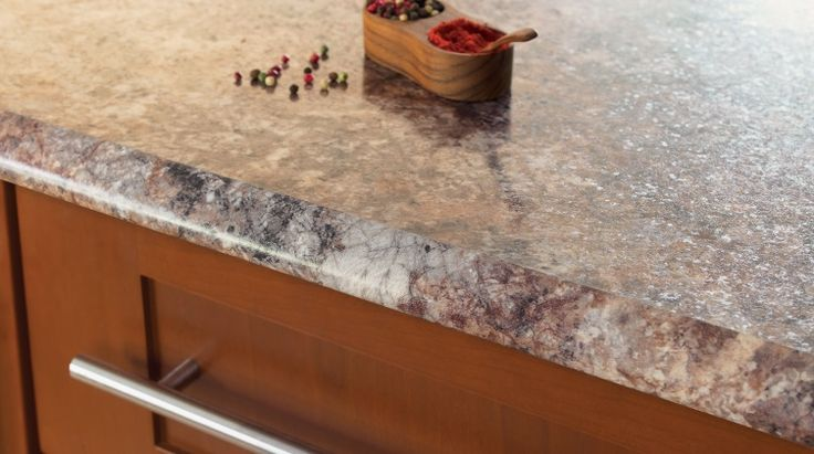 how to fix laminate countertop edging
